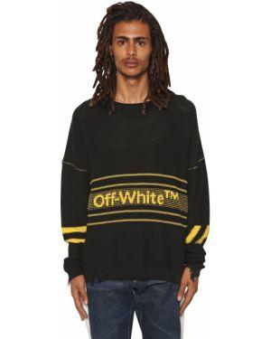 Sweter z kołnierzem Off-white