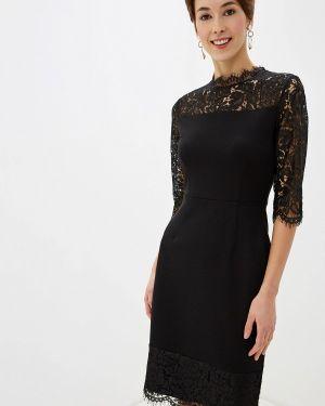 Вечернее платье осеннее черное Incity