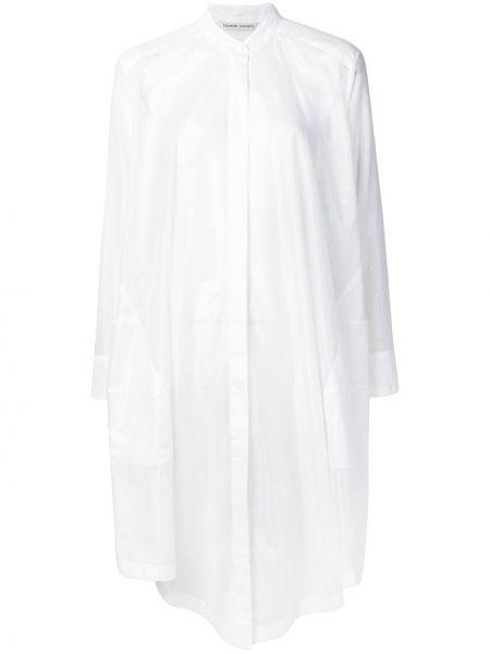 Белый свободные топ свободного кроя с круглым вырезом Tsumori Chisato