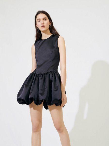 Вечернее платье черное весеннее Maje