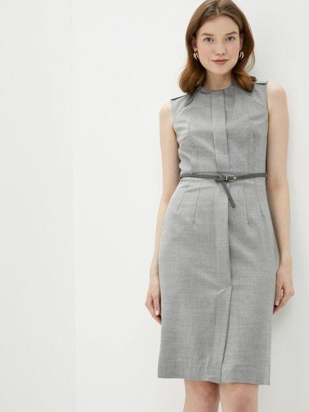 Серое платье Lusio