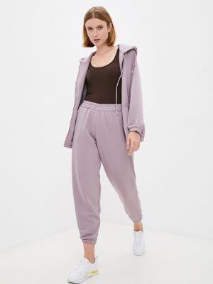 Фиолетовый весенний спортивный костюм M,a,k You Are Beautiful