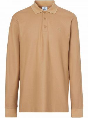 Koszula z haftem - brązowa Burberry