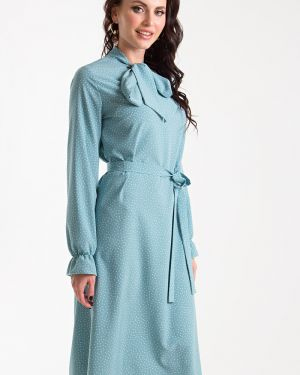 Вечернее платье длинное - голубое Taiga