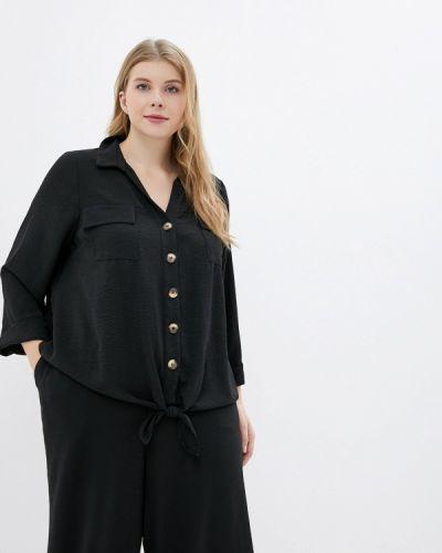 Блузка черная Evans