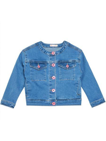 Niebieska kurtka jeansowa Billieblush