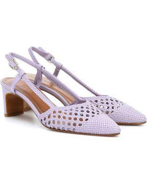 Сиреневые туфли-лодочки Souliers Martinez