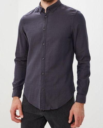 Серая рубашка с длинным рукавом Warren Webber