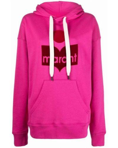 Bluza dresowa - różowa Isabel Marant Etoile