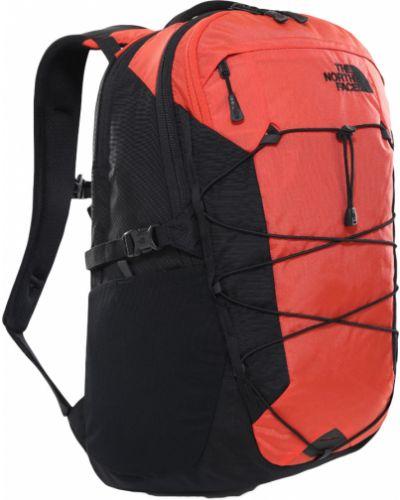 Czarny plecak sportowy na co dzień z printem The North Face
