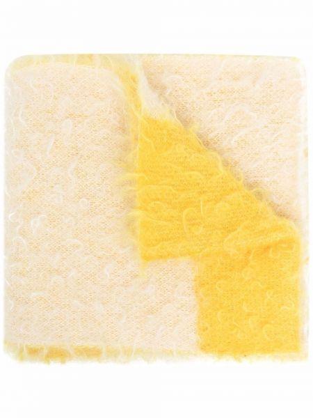 Szalik w paski - żółty Nuur