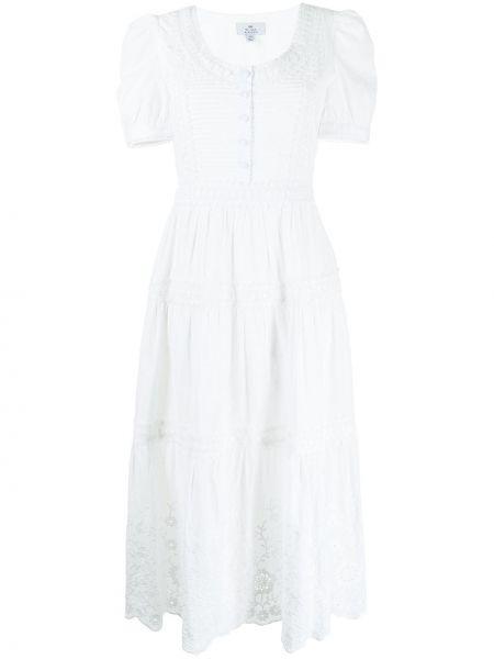 Белое платье с вышивкой We Are Kindred