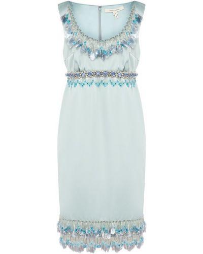 Платье мини с бахромой с бисером Marc Jacobs