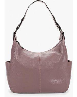 Кожаная сумка через плечо фиолетовый Cheribags