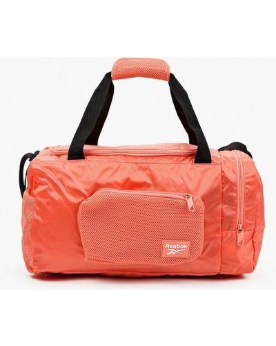 Нейлоновая красная спортивная сумка Reebok