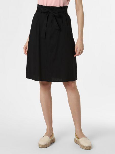 Spódnica z paskiem - czarna Apriori