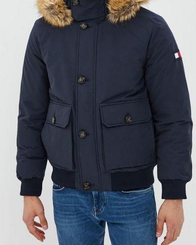 Зимняя куртка осенняя укороченная Tommy Hilfiger