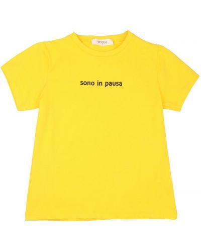 Żółta t-shirt Vicolo