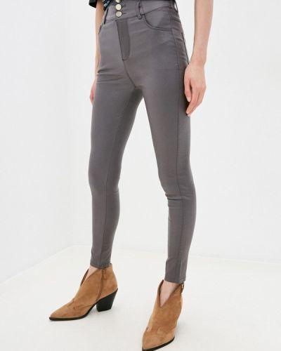Зауженные джинсы - серые Miss Gabby