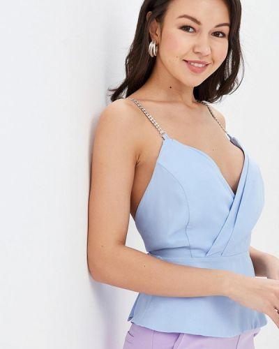 Топ - голубой Miss Miss By Valentina