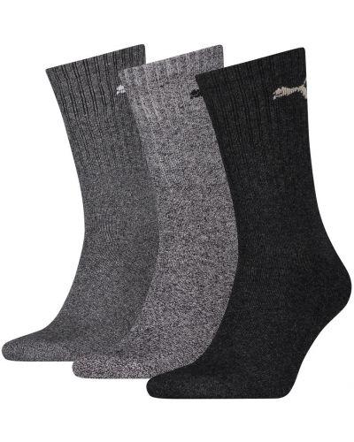 Кожаные облегченные спортивные спортивные носки в рубчик Puma