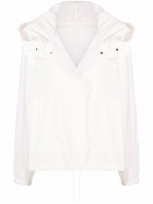 Белая куртка с принтом Jil Sander
