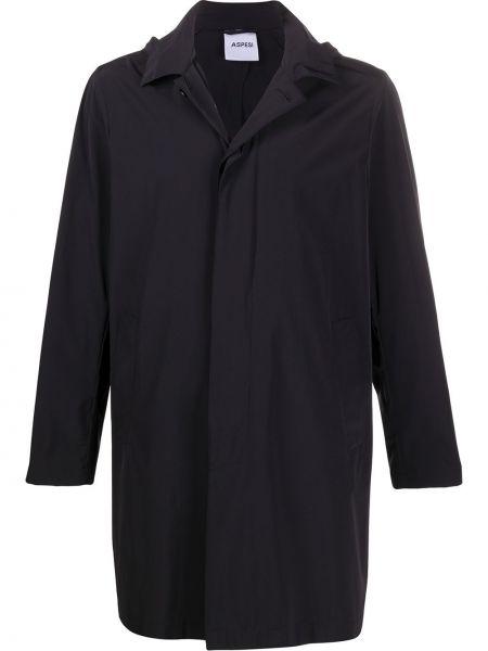 Płaszcz przeciwdeszczowy - czarny Aspesi