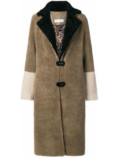 Длинное пальто Saks Potts
