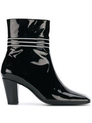 Czarne ankle boots skorzane Dorateymur