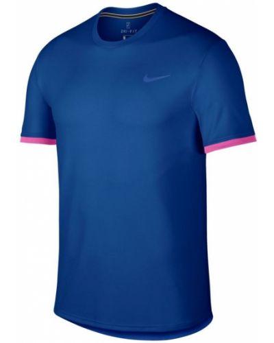 Niebieski z rękawami top Nike