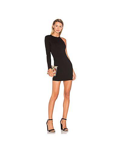 Облегающее платье на молнии шелковое Nbd