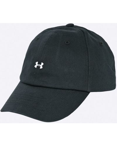 Черная шапка хлопковая Under Armour