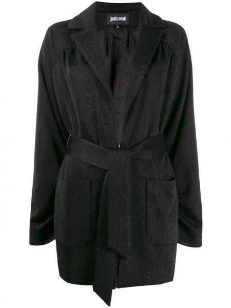 Куртка черная вельветовая Just Cavalli