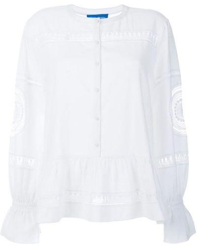 Блузка белая Mih Jeans
