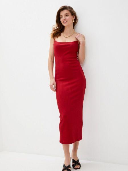 Платье платье-комбинация красный Trendyangel