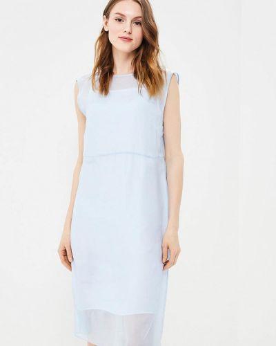 Голубое платье весеннее Calvin Klein Jeans