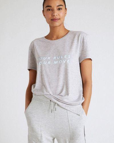 Серая спортивная футболка Marks & Spencer