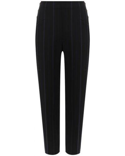 Прямые укороченные брюки из вискозы в морском стиле See By Chloé