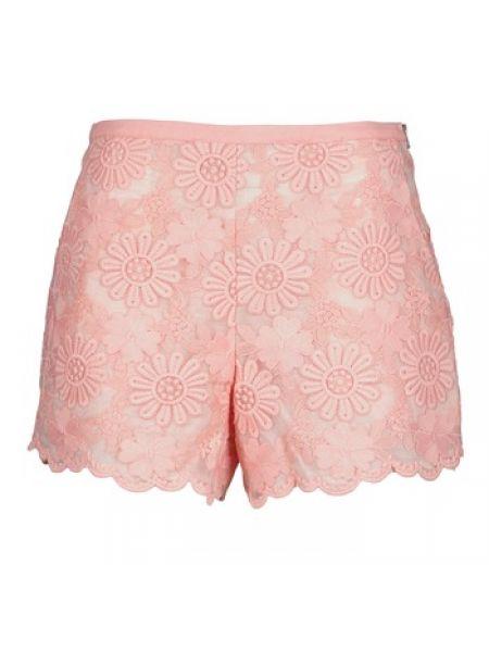 Różowe krótkie szorty Manoush