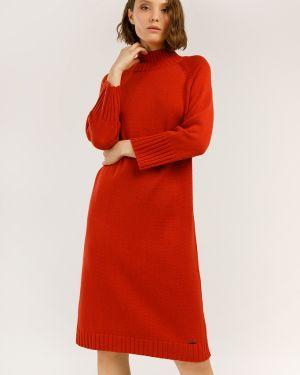 Платье платье-сарафан красный Finn Flare