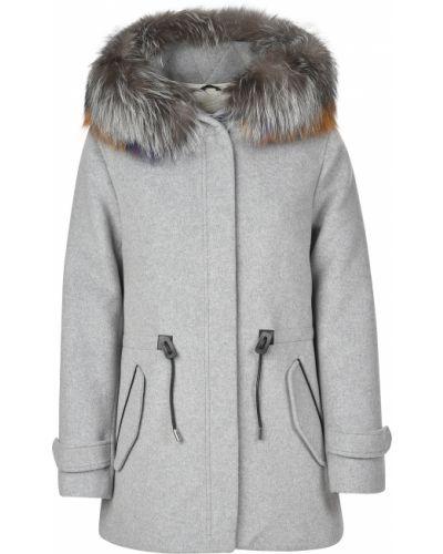 Кашемировое пальто - серое Mackage