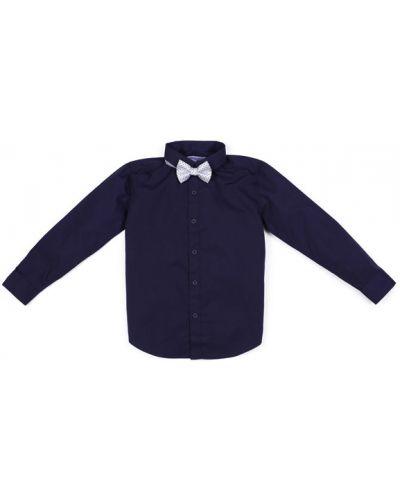 Рубашка в горошек белая Playtoday Long Size