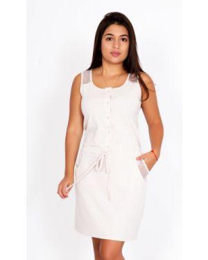 Летний сарафан хлопковый на пуговицах Lika Dress