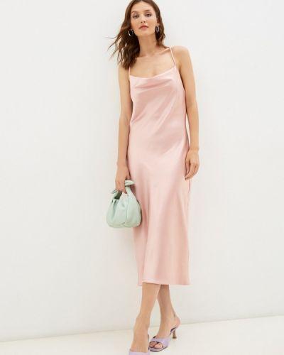 Розовое платье-комбинация Imocean