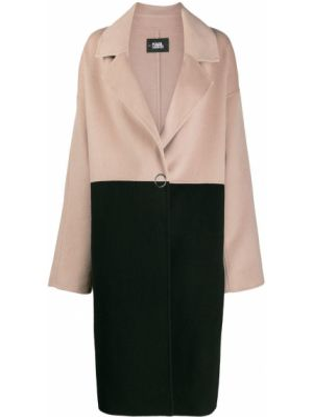 Пальто пальто на пуговицах Karl Lagerfeld