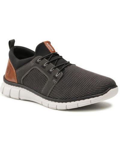 Czarne sneakersy Rieker