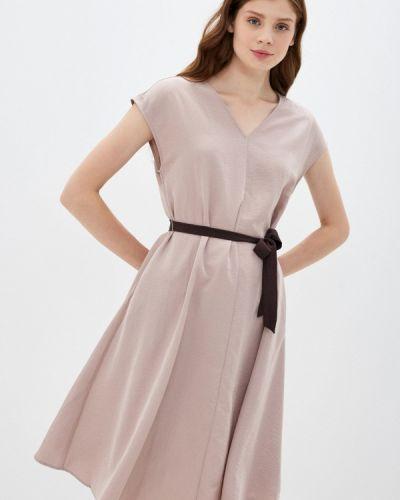 Прямое розовое платье Zarina