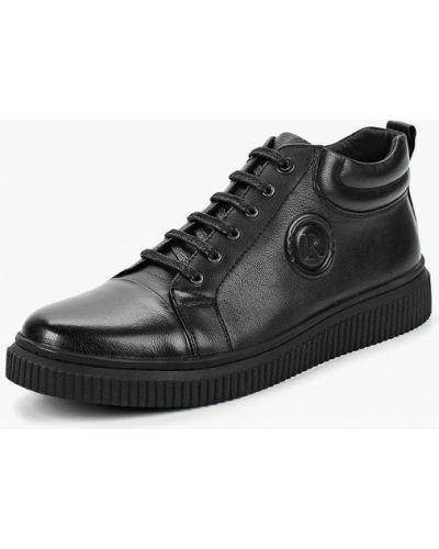 Ботинки осенние кожаные демисезонный Rosconi