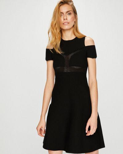 Платье мини из вискозы однотонное Miss Sixty