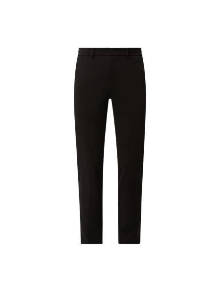 Czarne spodnie z wiskozy Brax